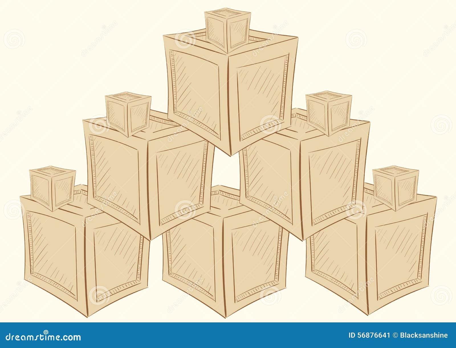 Magazzino delle scatole