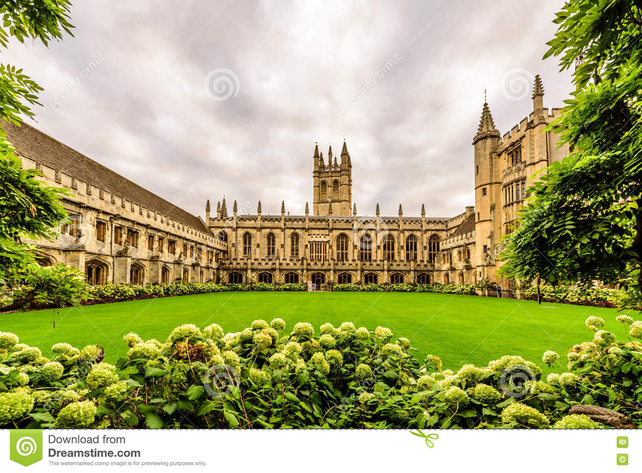 Magdalen College, Université d Oxford, Oxford, Angleterre