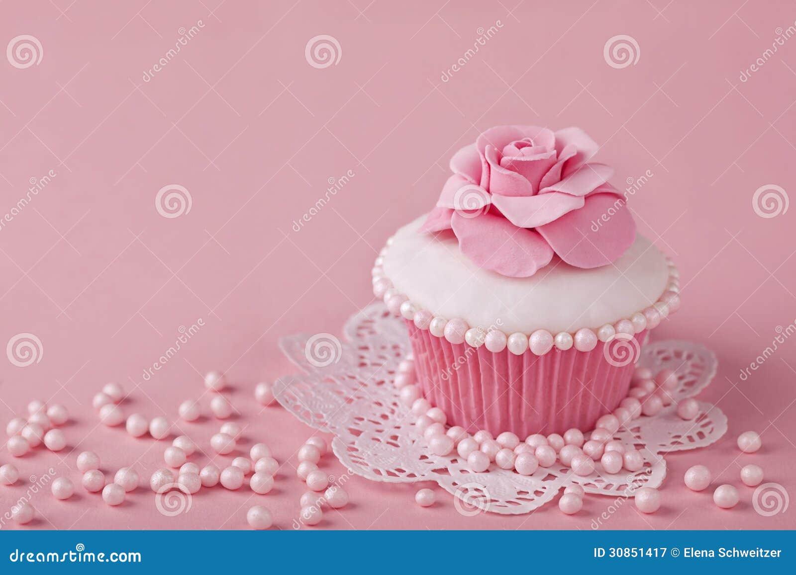 Magdalena con las flores rosadas