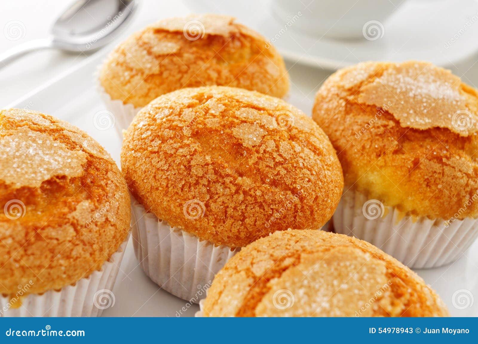 Magdalenas typisk spanjor plattar till muffin