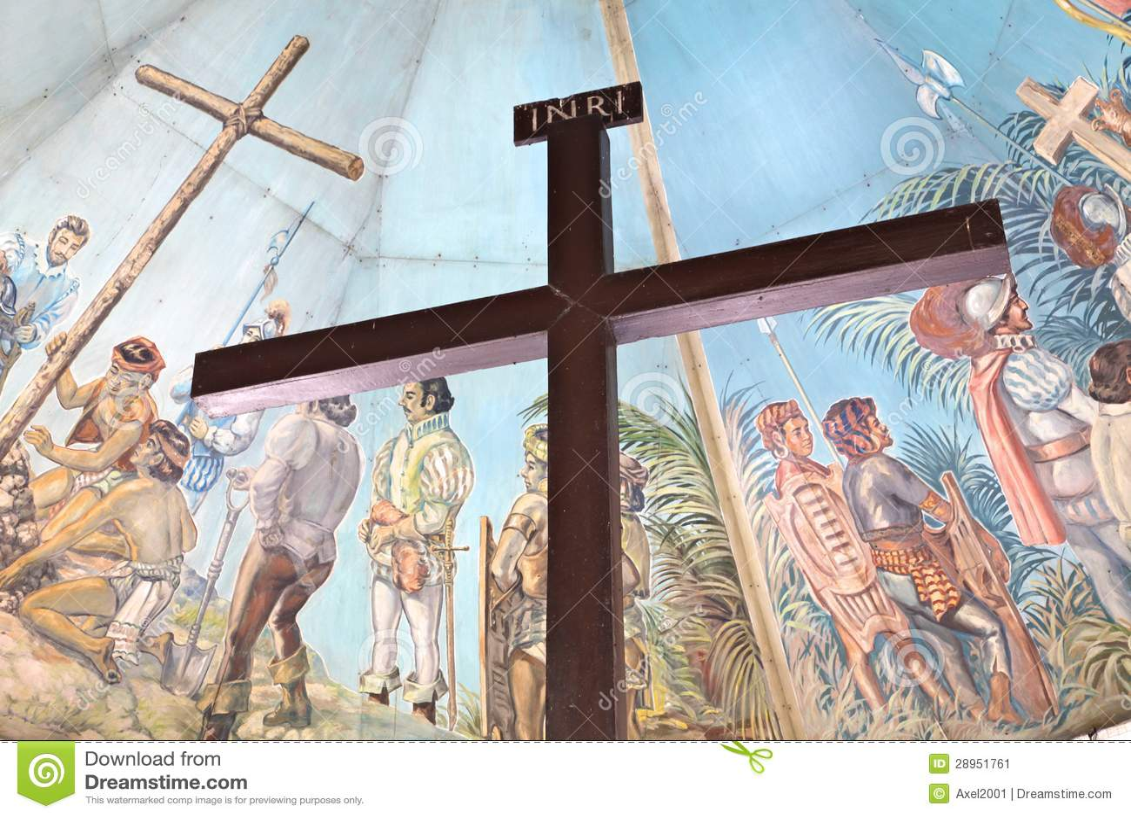 Magellan s krzyż w Cebu, Filipiny