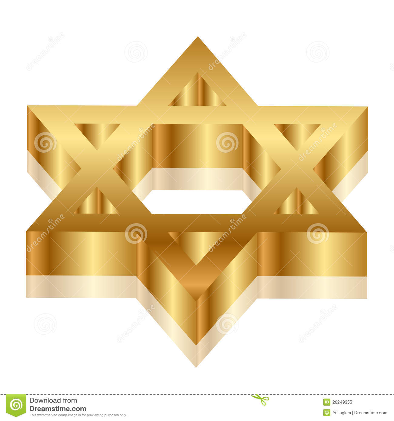 how to make a 3d star of david