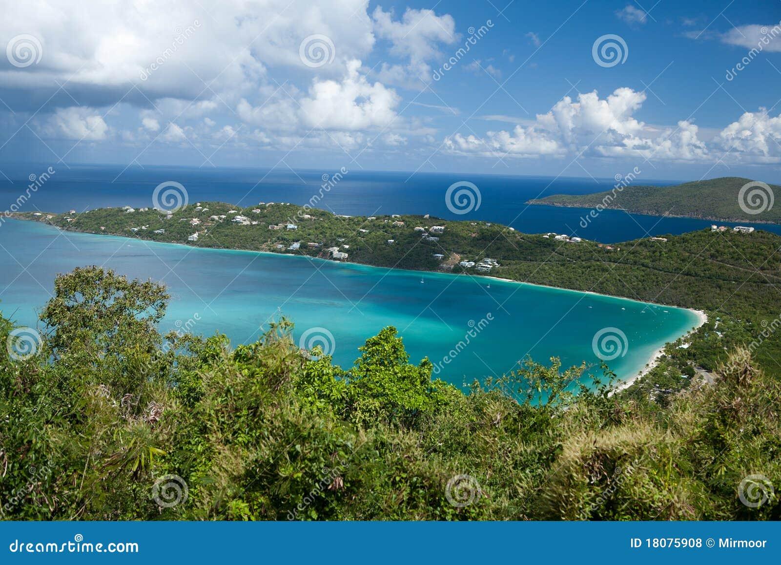 Magens Bay (St.Thomas, U.S.Virgin Islands).