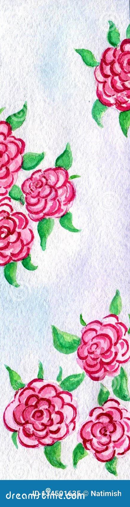 Sing El Magenta Rose Clip Art