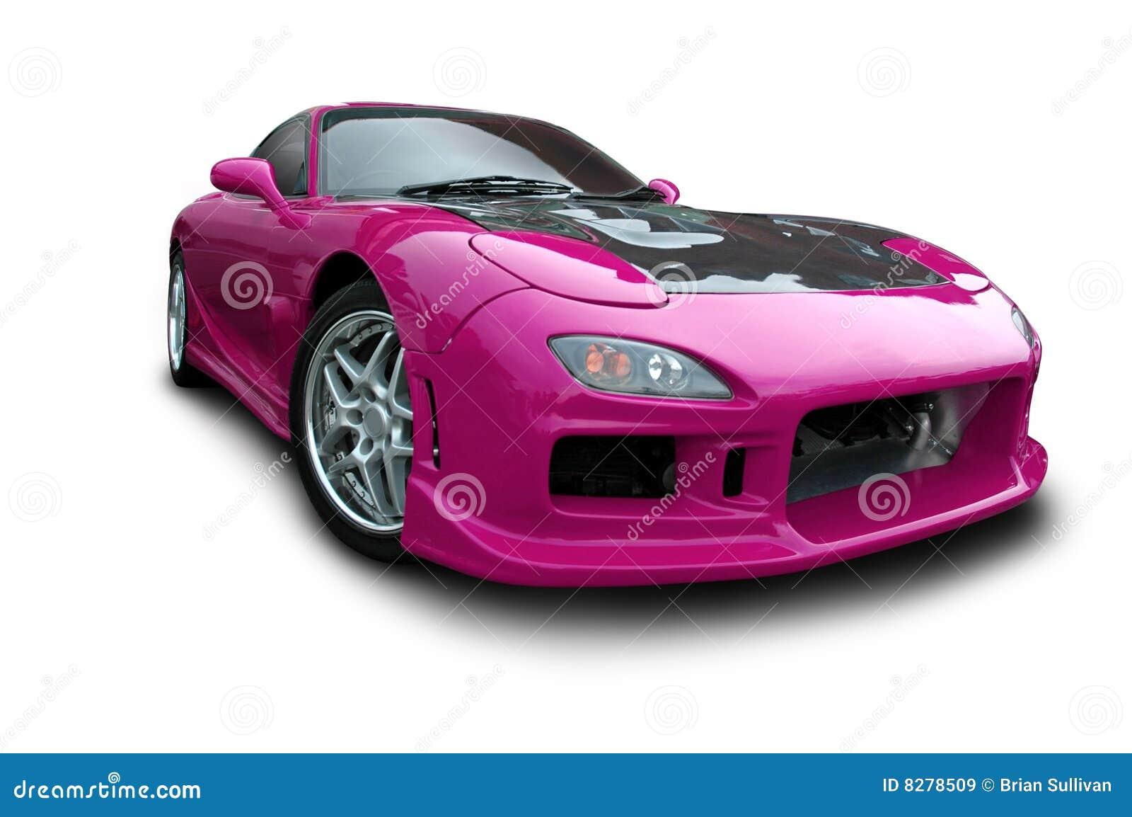 Magenta Sports Car Stock Image Image Of Rotary Auto