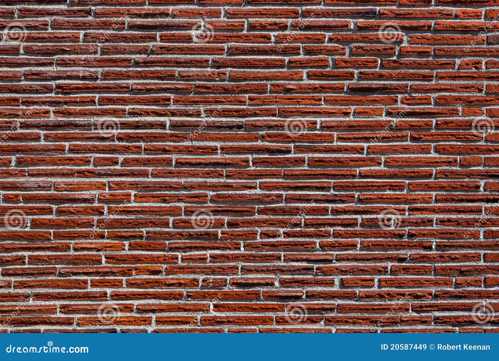 Magere rode bakstenen muur stock afbeelding afbeelding bestaande uit rood 20587449 - Rode bakstenen lounge ...