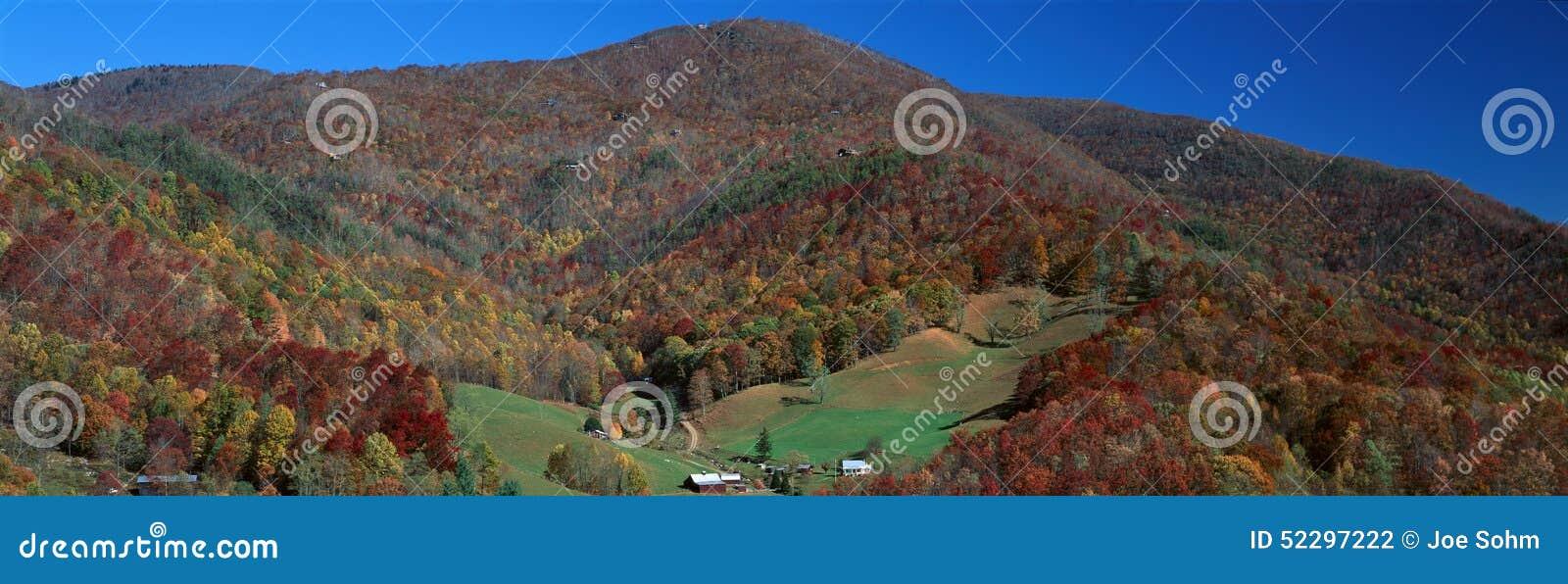 Maggie dolina, Wielki Smokey park narodowy, Pólnocna Karolina