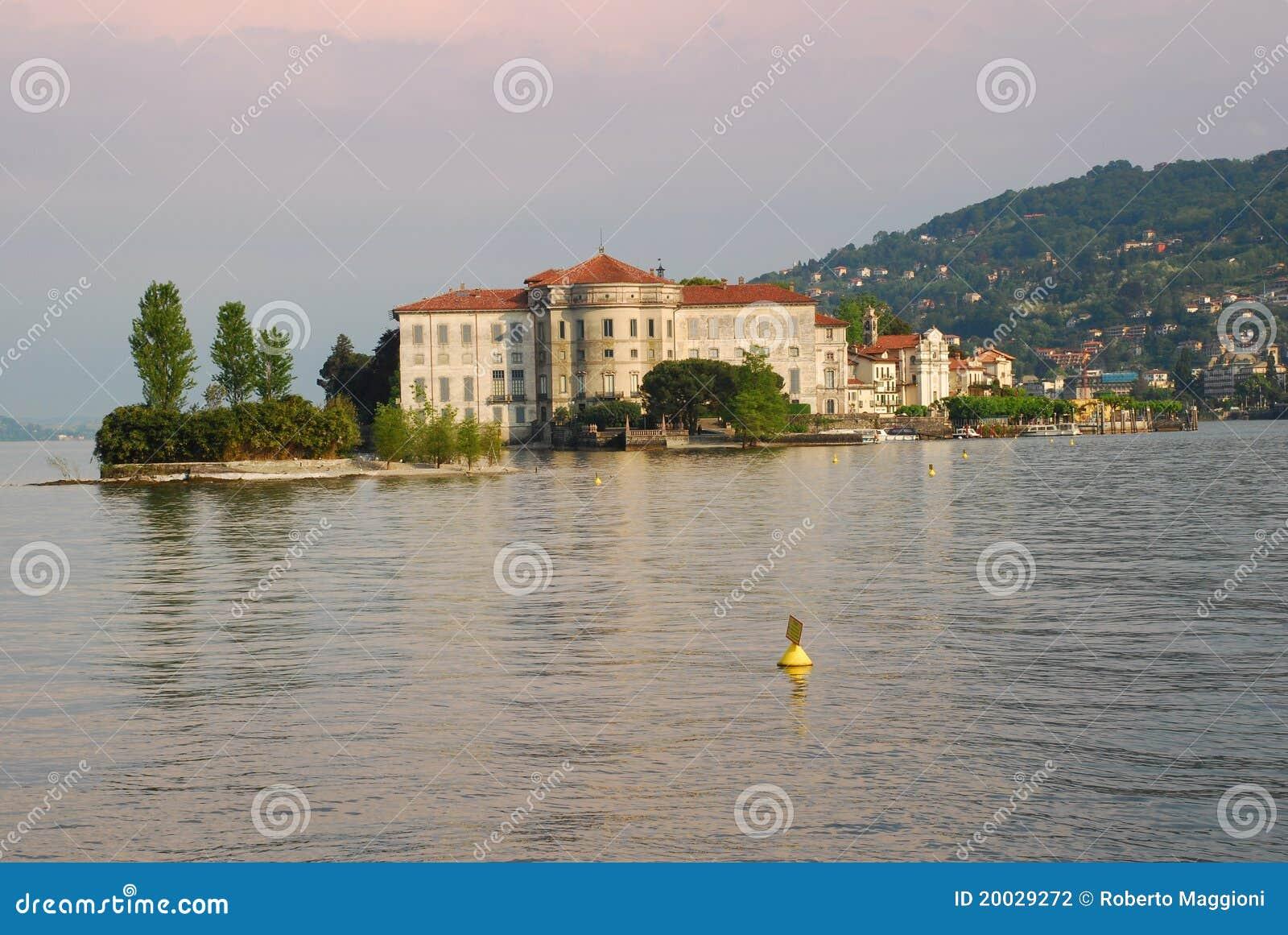 Maggiore озера isola bella