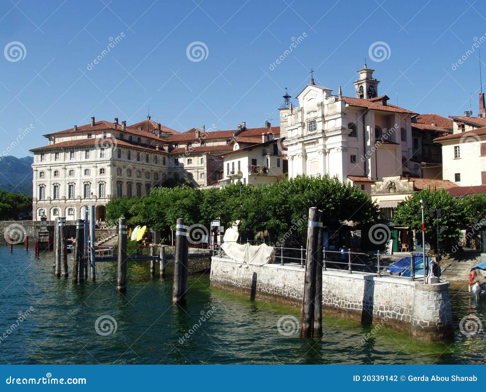 Maggiore lago Италии isola bella