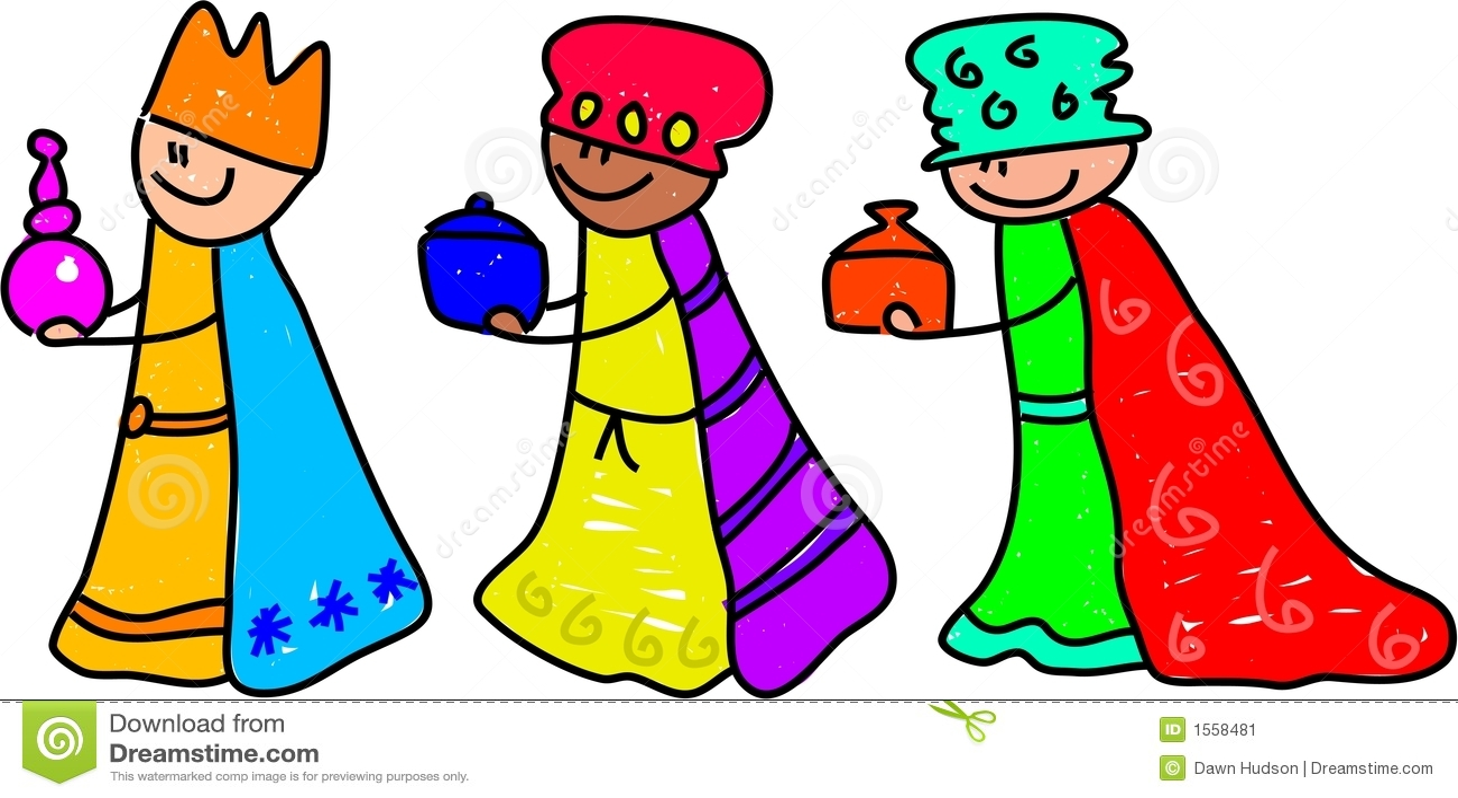 Magi kids stock vector  Illustration of bible, fancy