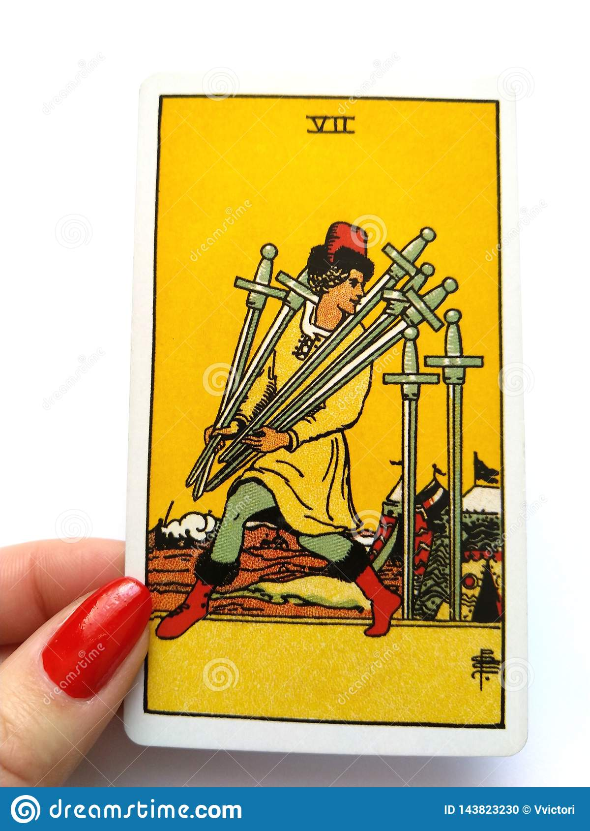 Magia occulta di divinazione delle carte di tarocchi