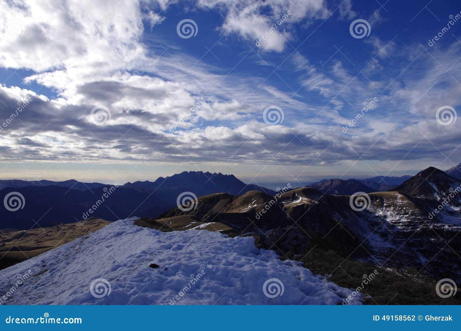 landscape sky clouds snow - photo #6