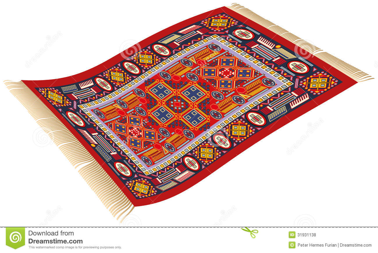 Magic Carpet Royalty Free Stock Photos Image 31931138