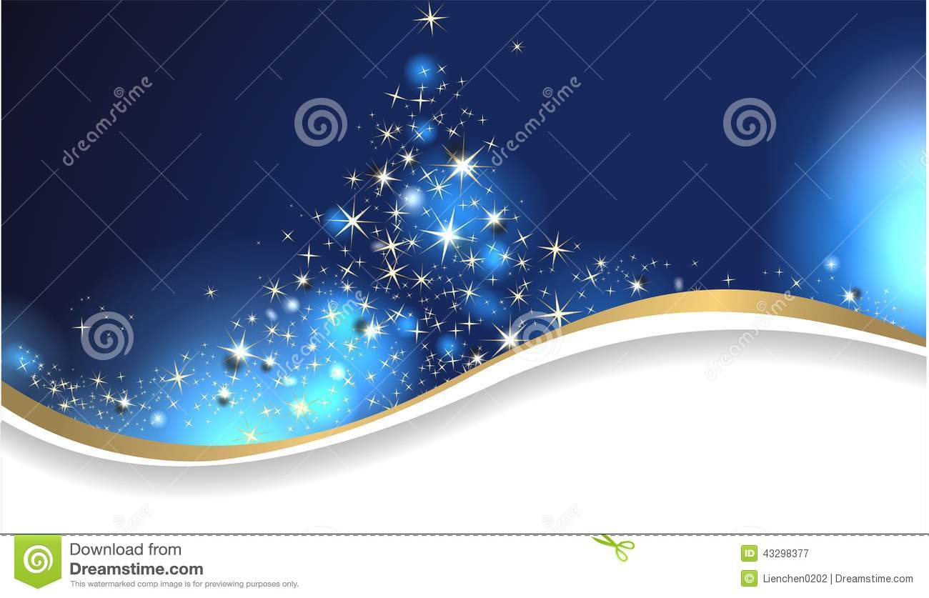 Magic Christmas Card Stock Vector Illustration Of Celebration