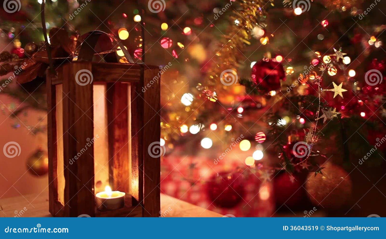 Magic Christmas Lights stock video. Video of bokeh, golden - 36043519