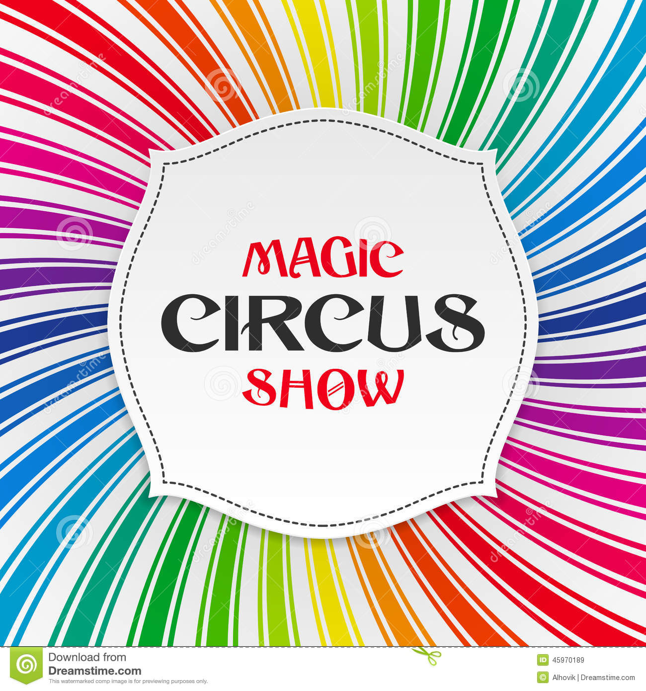 how to make a poster on magic show