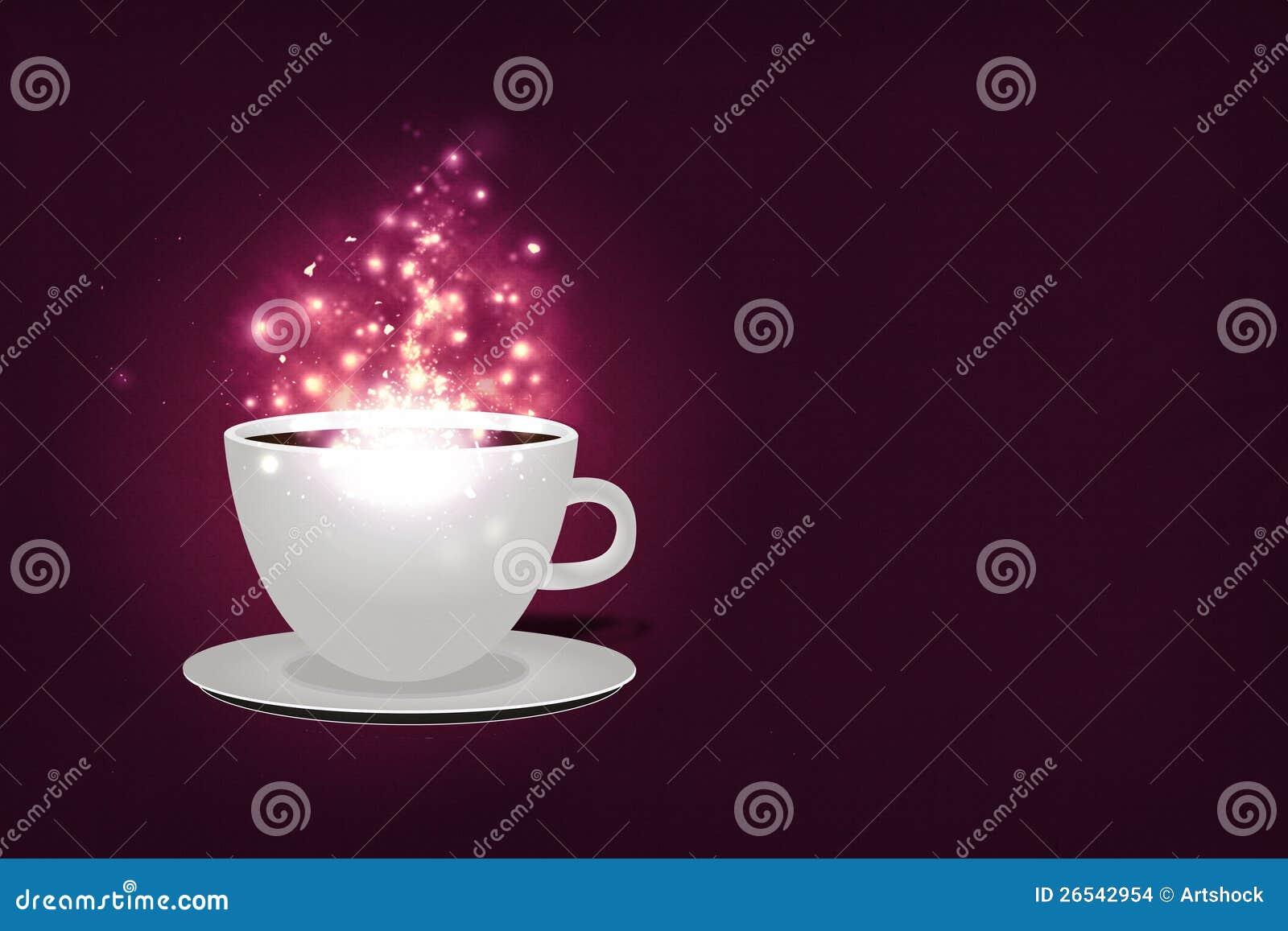 Magic Coffee Background Stock Images - Image: 26542954