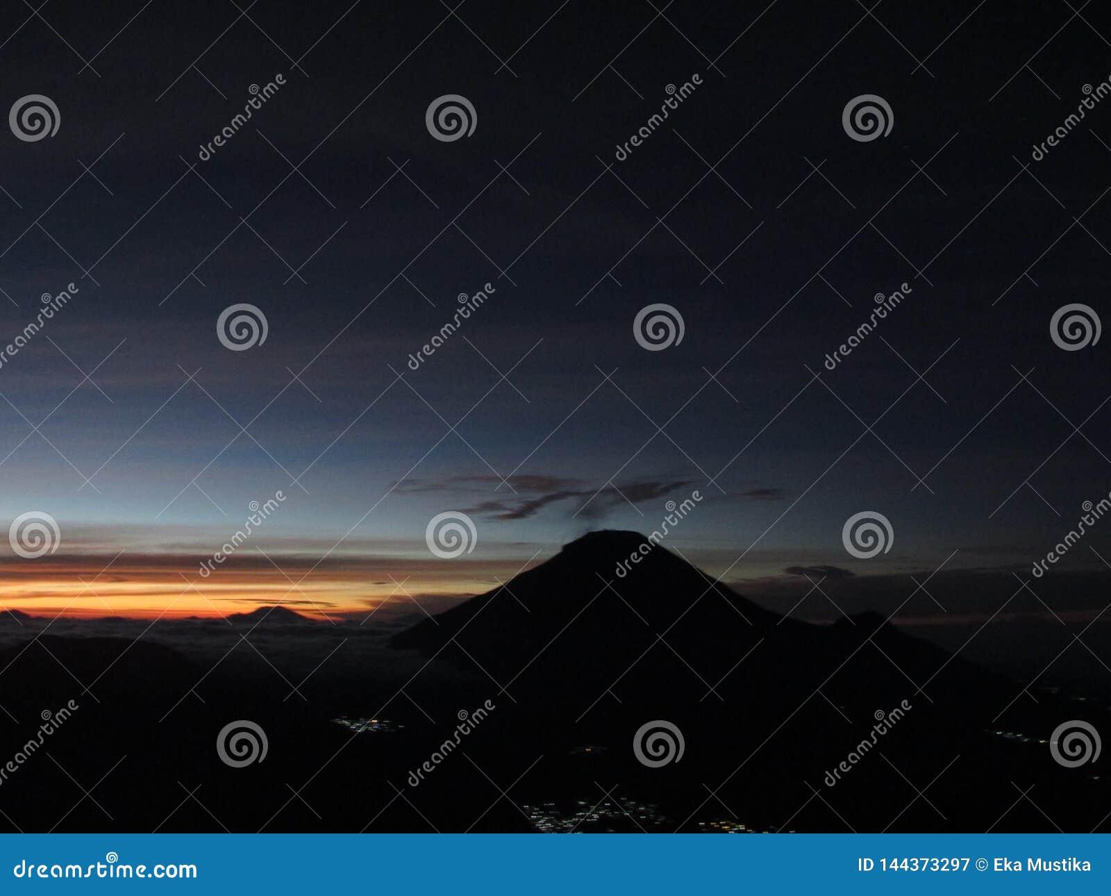 Magic colour of the sun rise