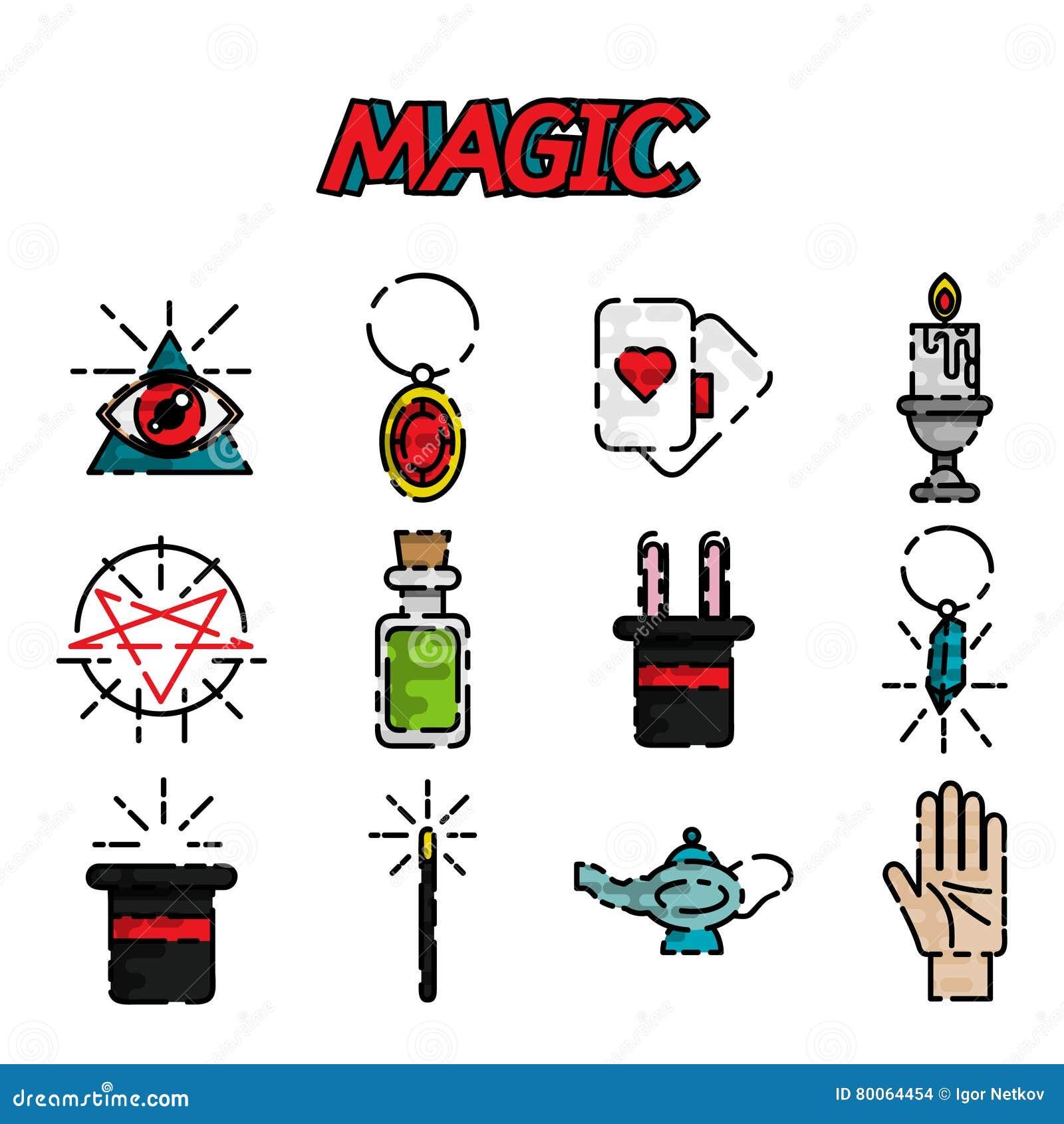 Box Magic Icon, Flat Style Vector Illustration ...