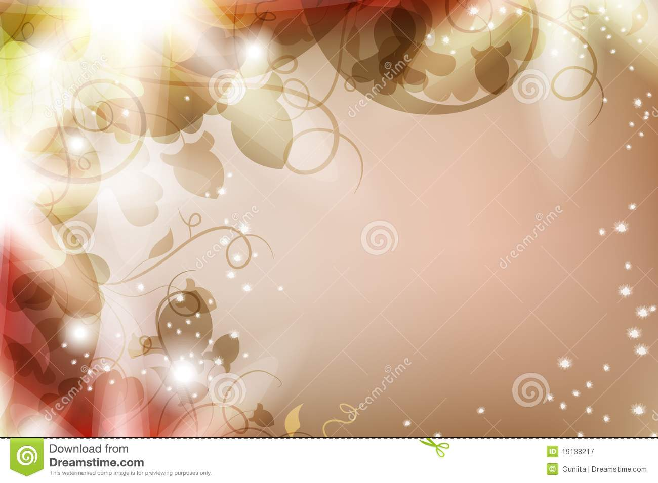 magic flower background royalty free stock photography