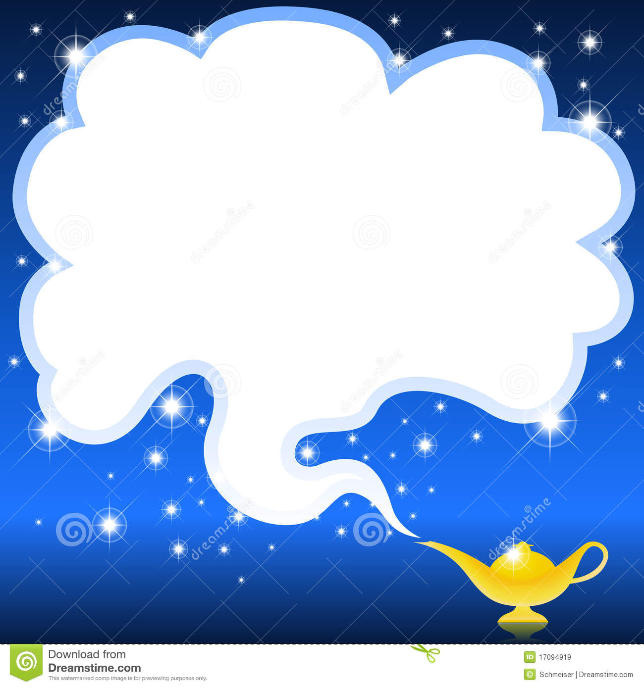 Magic genie lamp stock vector. Illustration of clip, dust - 17094919 for Magic Lamp With Smoke  143gtk