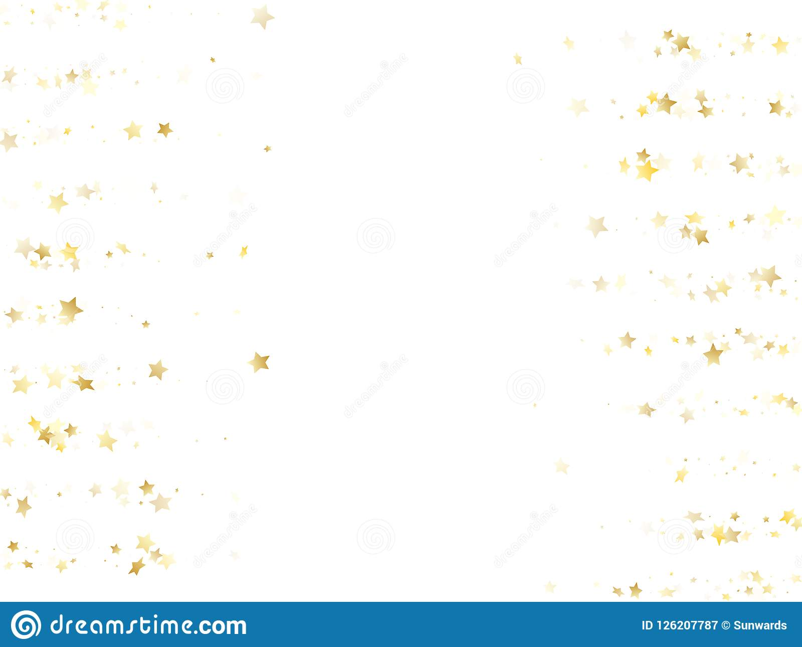 magic gold sparkle texture vector star background