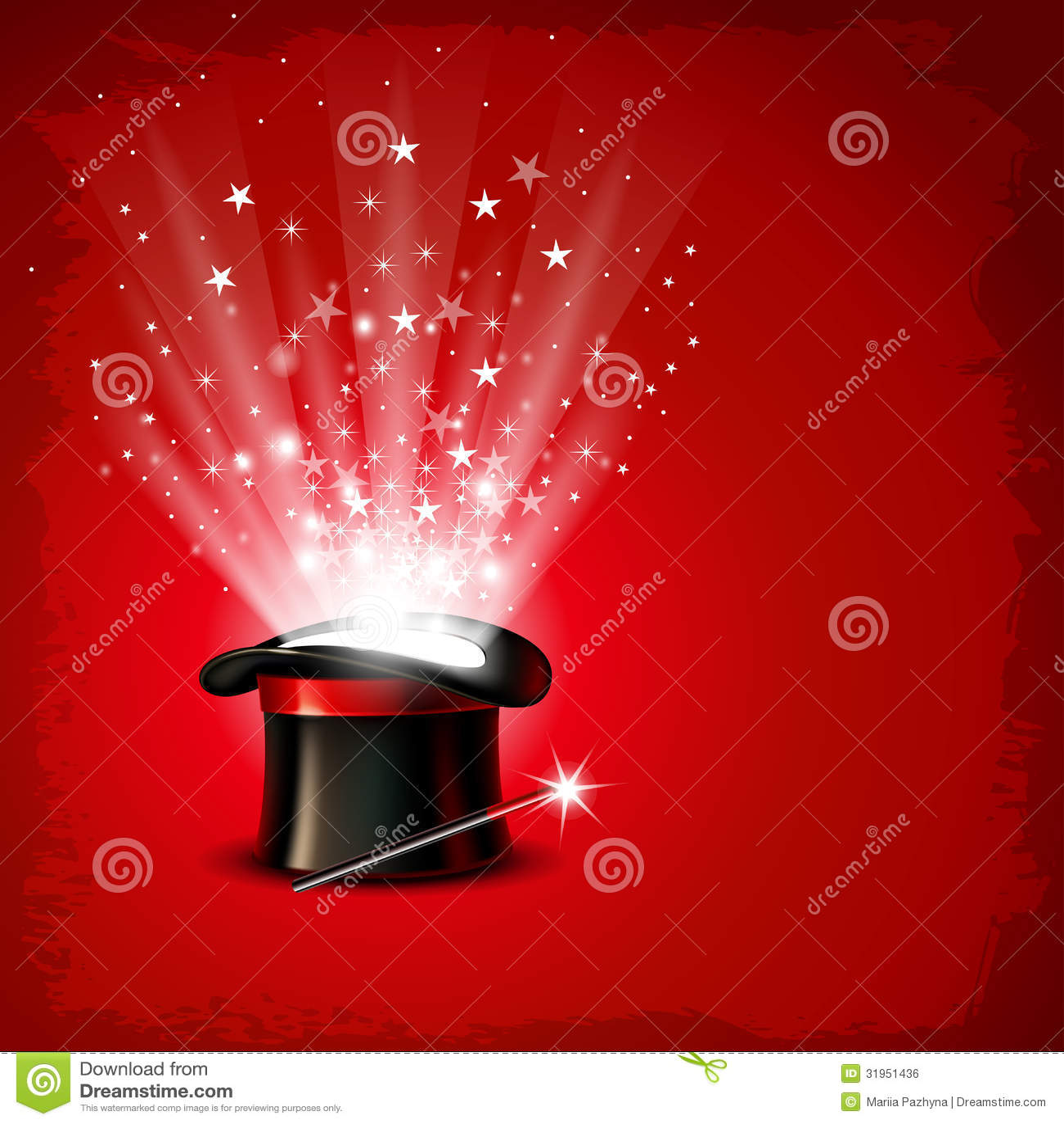 magic hat royalty free stock image image 31951436 Magic Wand Clip Art Magic Hat Background