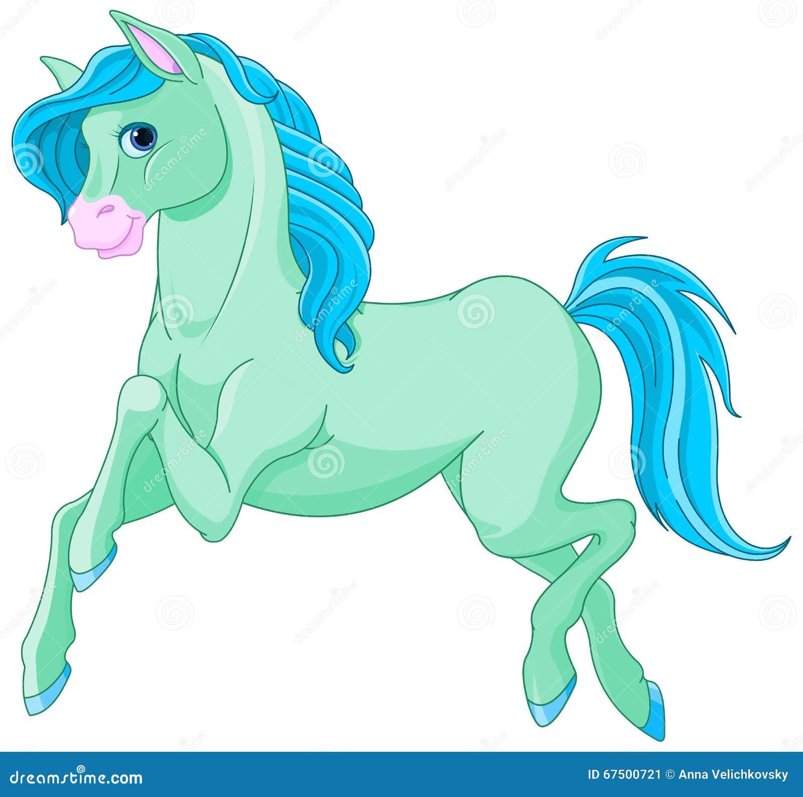 Magic Horse Stock Vector Illustration Of Fantasy Clip 67500721