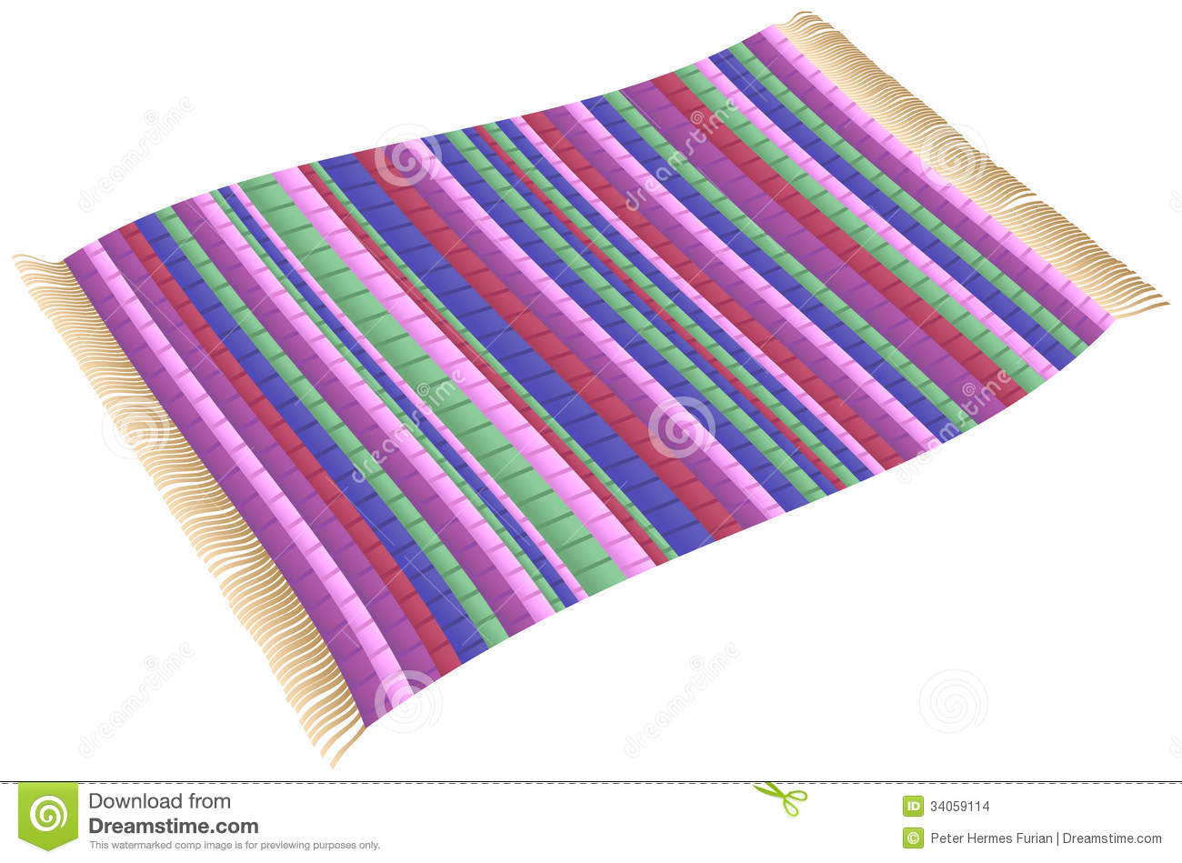 Magic Rag Rug Stock Images Image 34059114