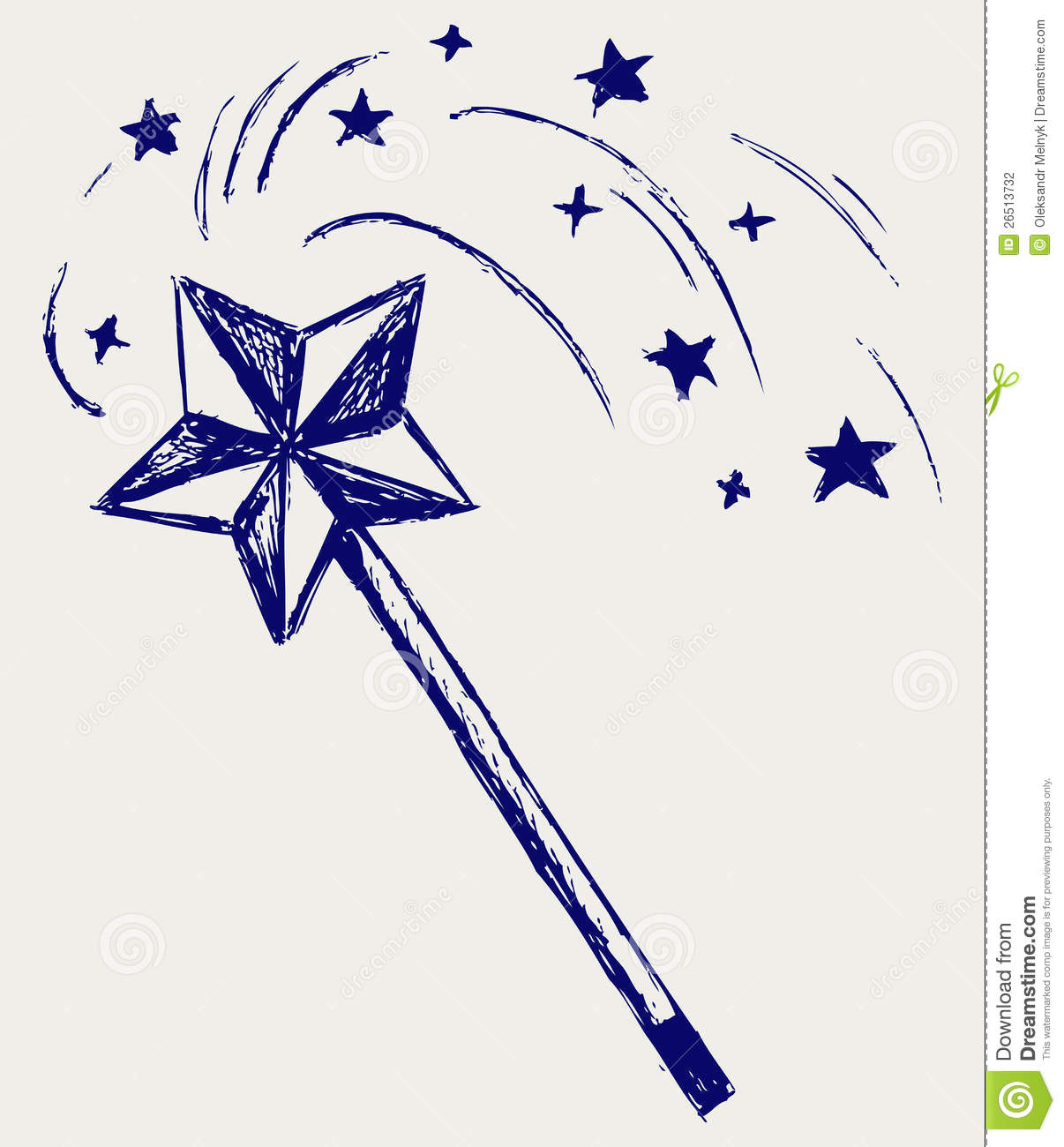 Magic Wand Stock Photography - Image: 26513732