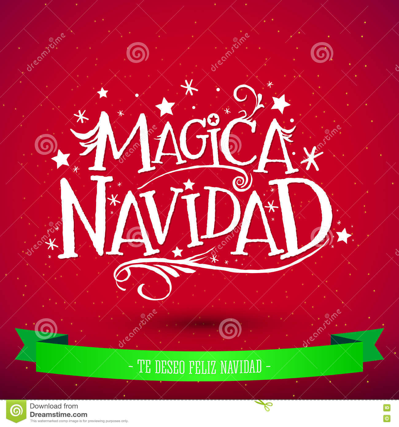 Magica navidad spanish translation magic christmas holiday magica navidad spanish translation magic christmas holiday greeting card merry christmas lettering kristyandbryce Images