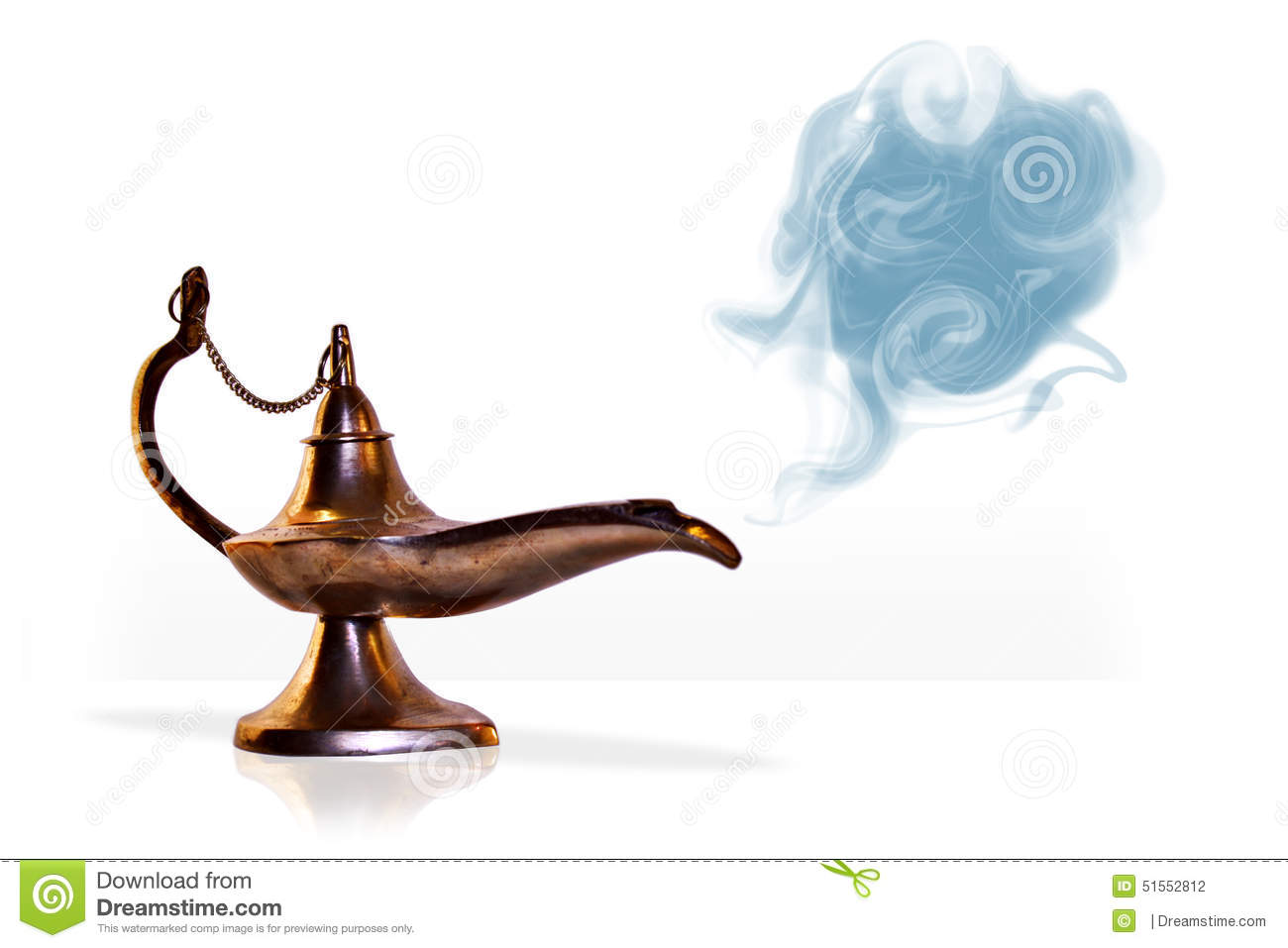 Magical Aladdin Genie Lamp With Smoke Stock Photo - Image of ... for Magic Lamp With Smoke  555kxo