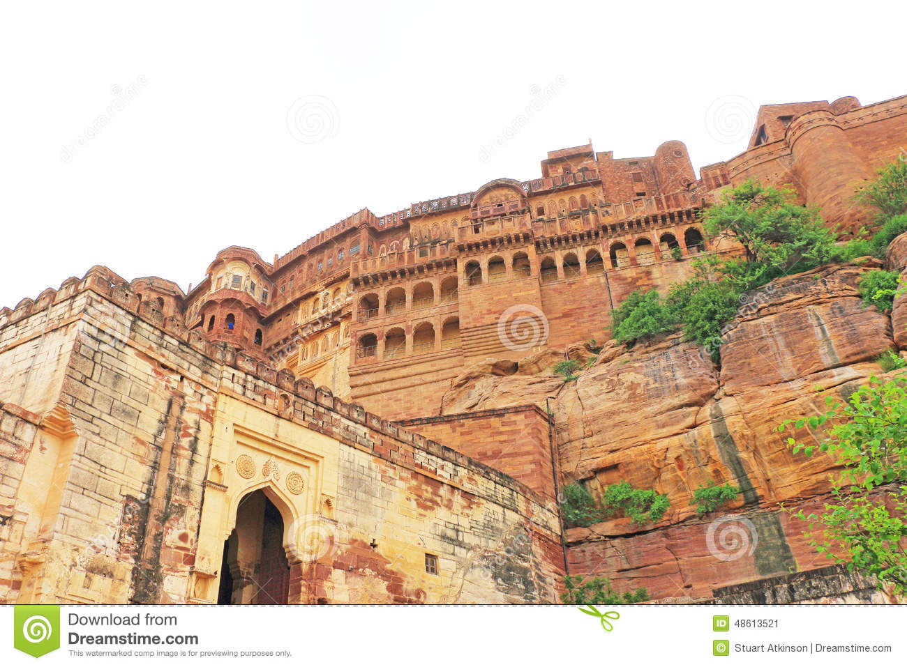 Magical Mehrangarh Fort, Jodhpur, Rajasthan,india