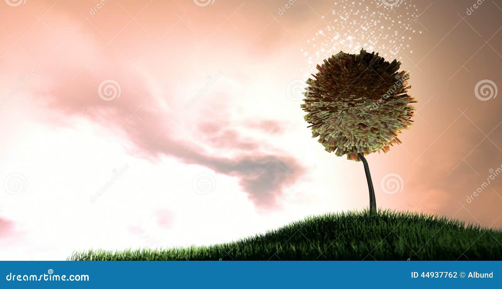 Magical Rand Money Tree Stock Photo - Image: 44937762