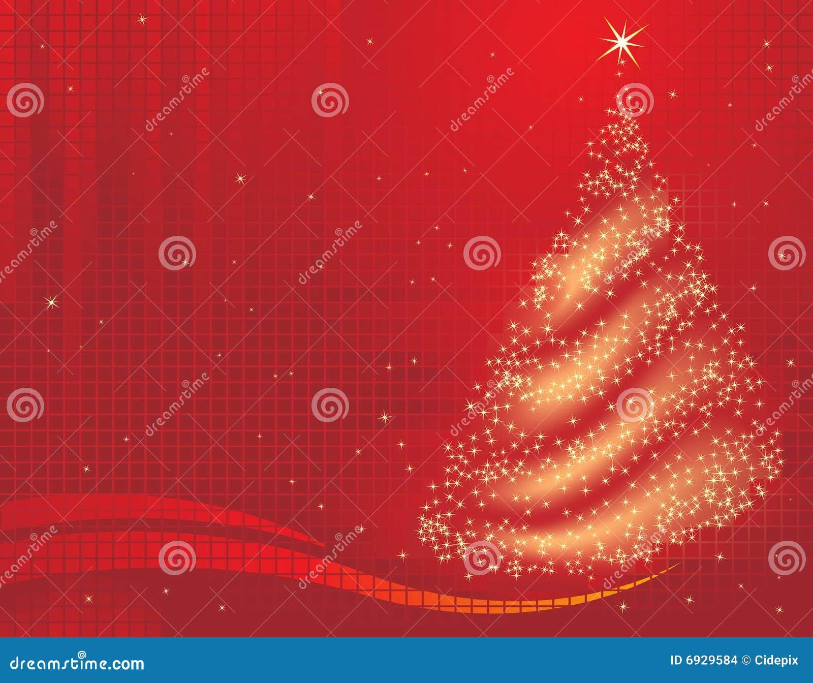 Magical tree för jul