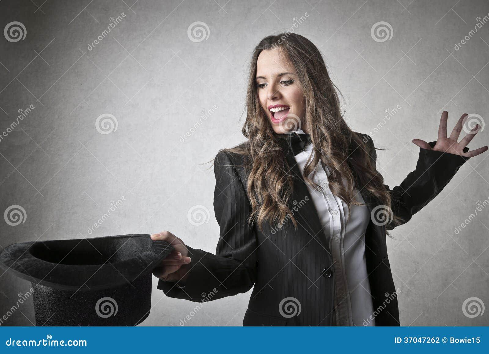 Magician Woman Stock Photography Image 37047262
