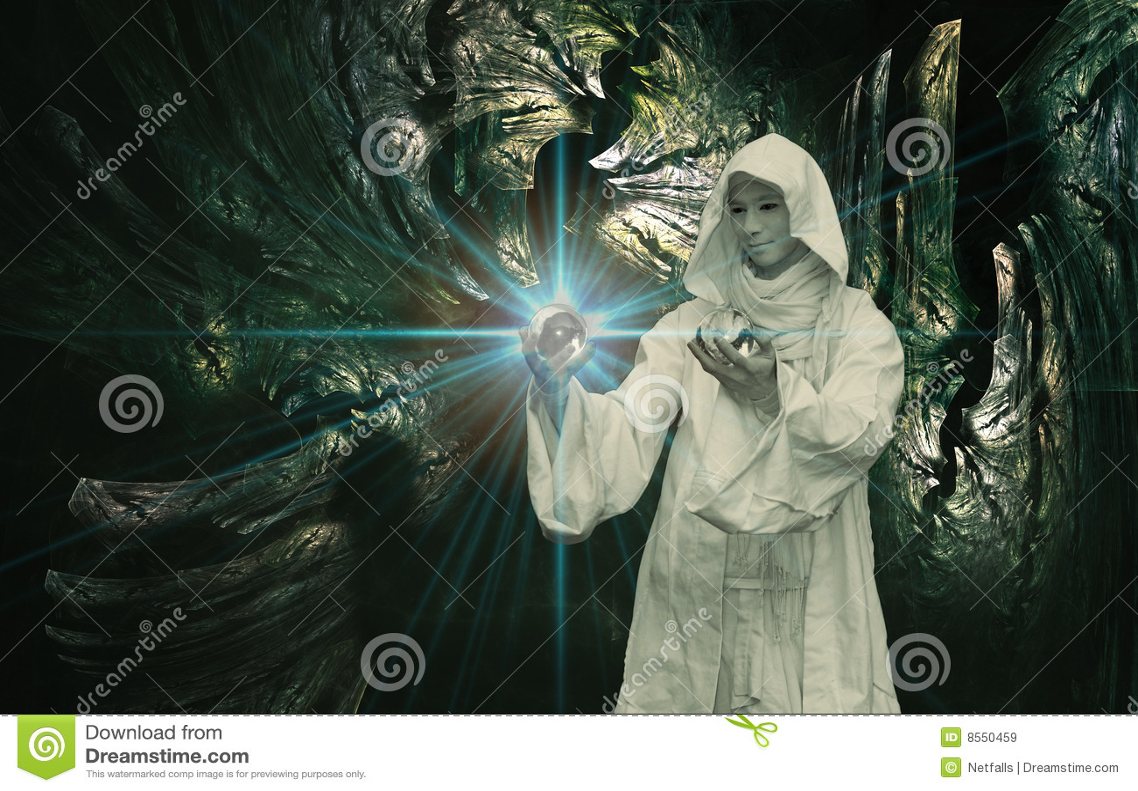 Magicien blanc