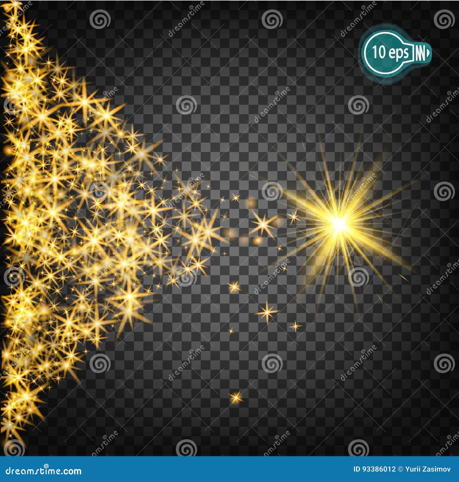 Stella Di Natale Luce.Magico Pilotare Una Stella Di Natale E Un Effetto Della Luce