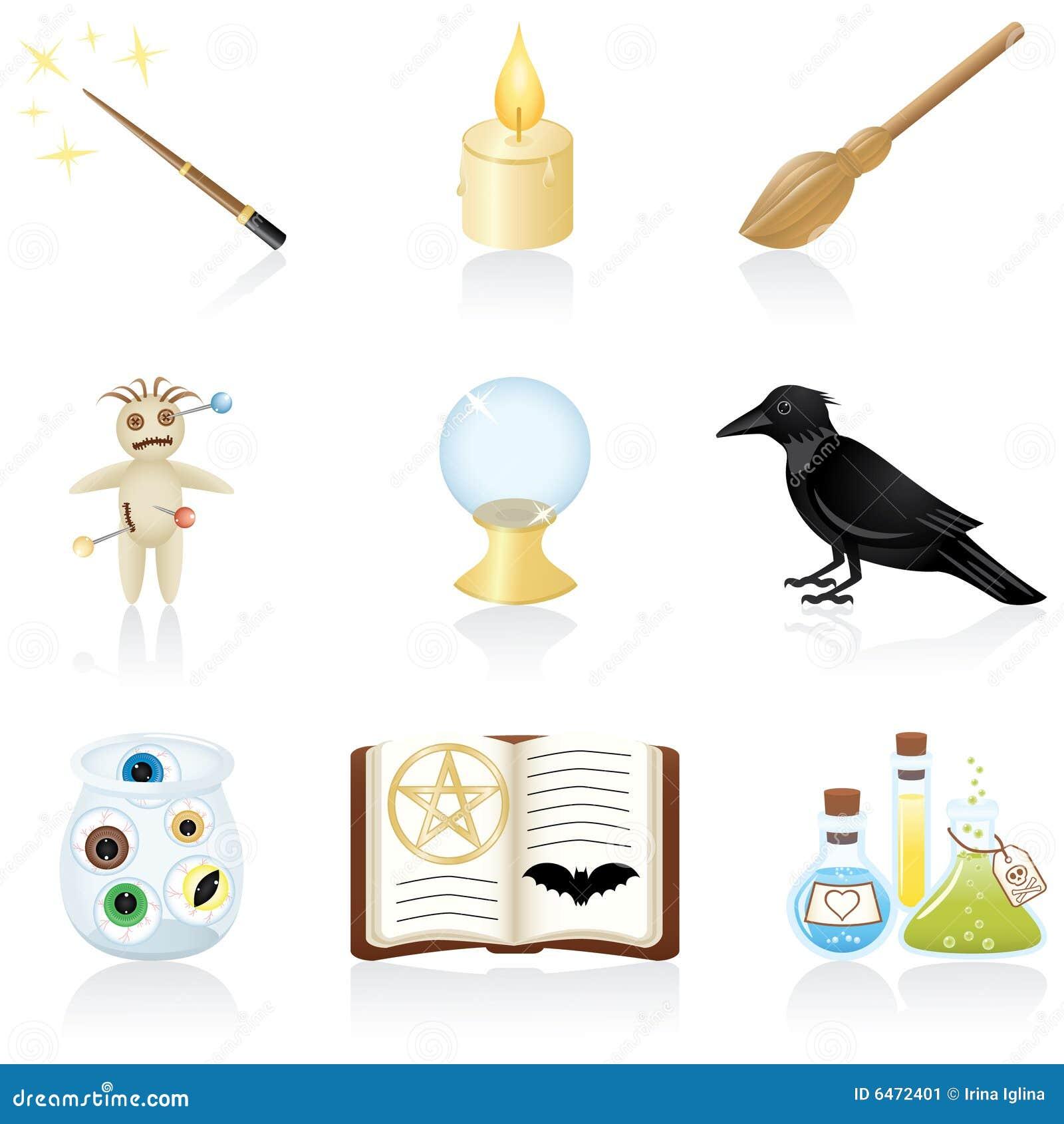 Magiczne symbole zestaw