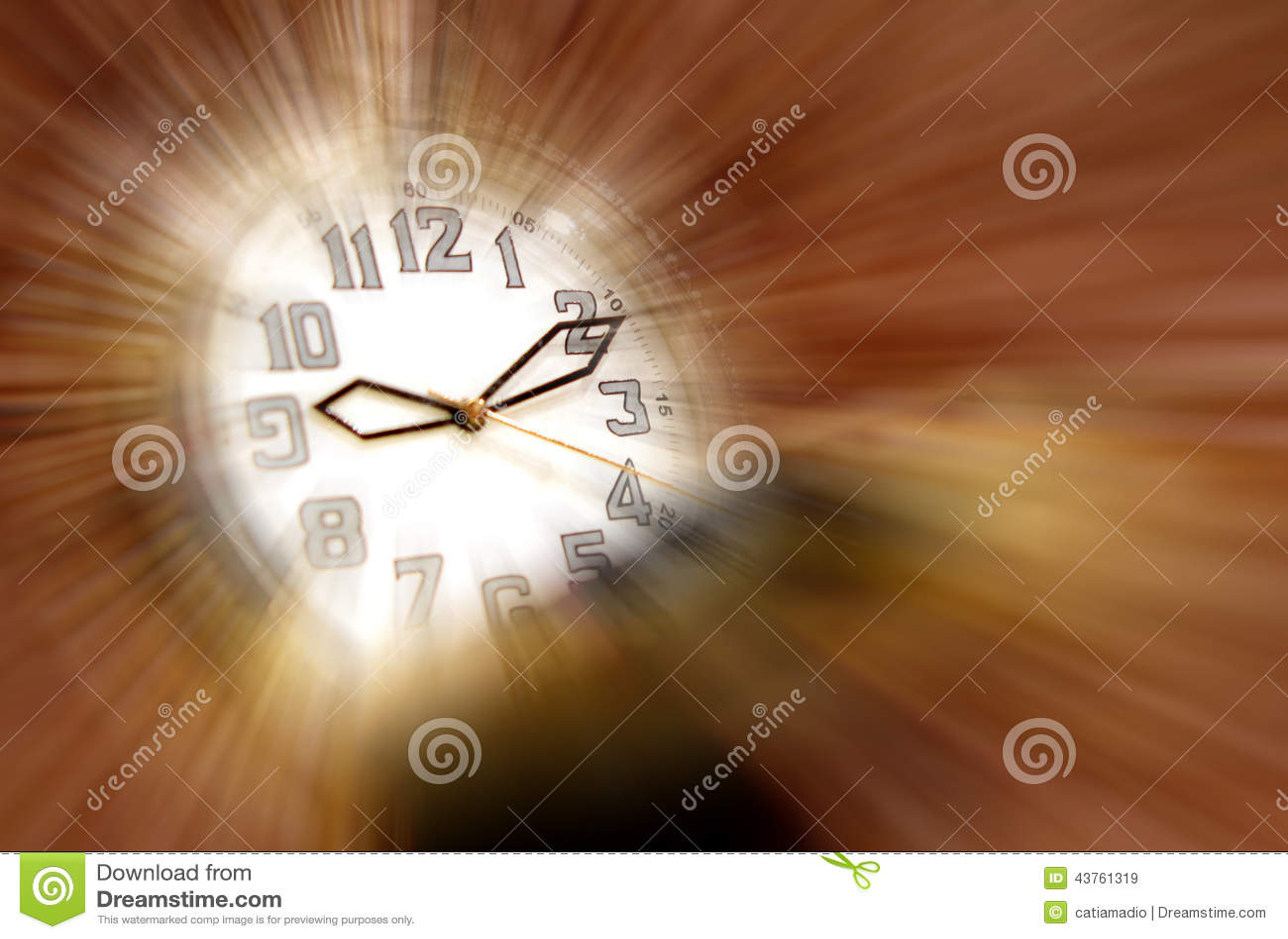 Magiczny czasu zegarek