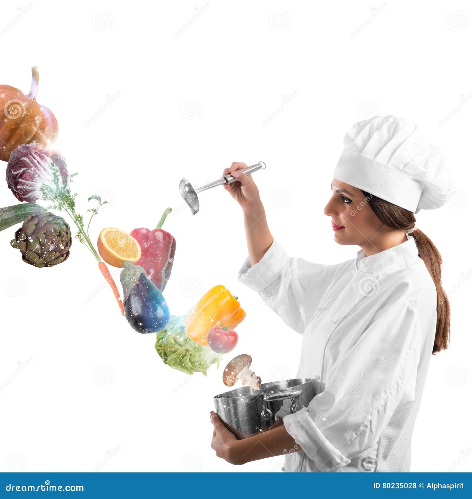 Magie dans la cuisson