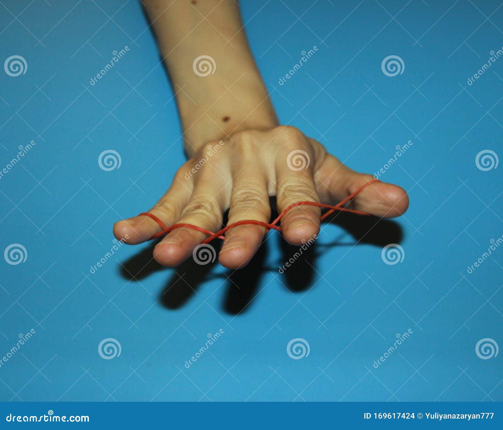 Zaubertrick Gummi Finger