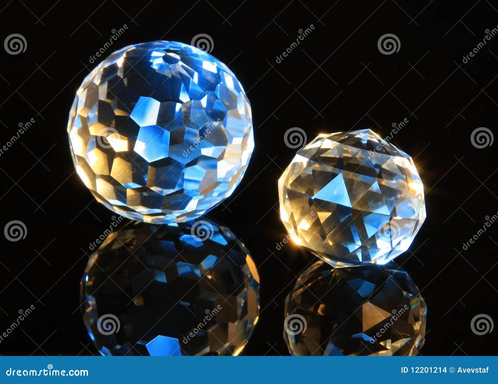 Magieschnitt-Kristallkugeln