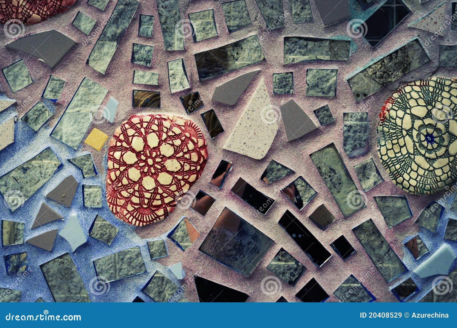 Magische Gärten Philadelphia Glasfliese Gebäude Stockbild Bild