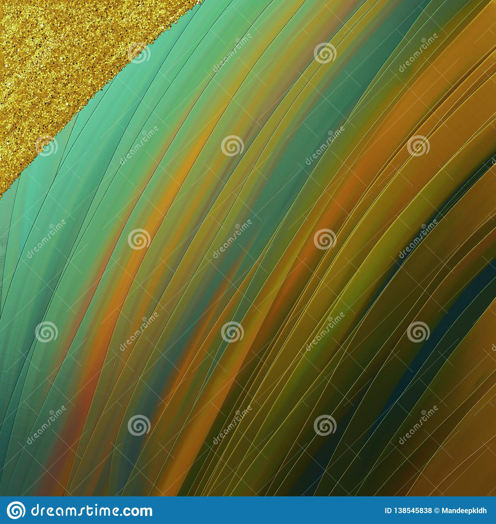 Magische helle Tapete Goldene abgetönte Anschläge mit Funkelnflecken Gut für Handwerk, Geschenk, Dekor, wickelnd, Themen ein