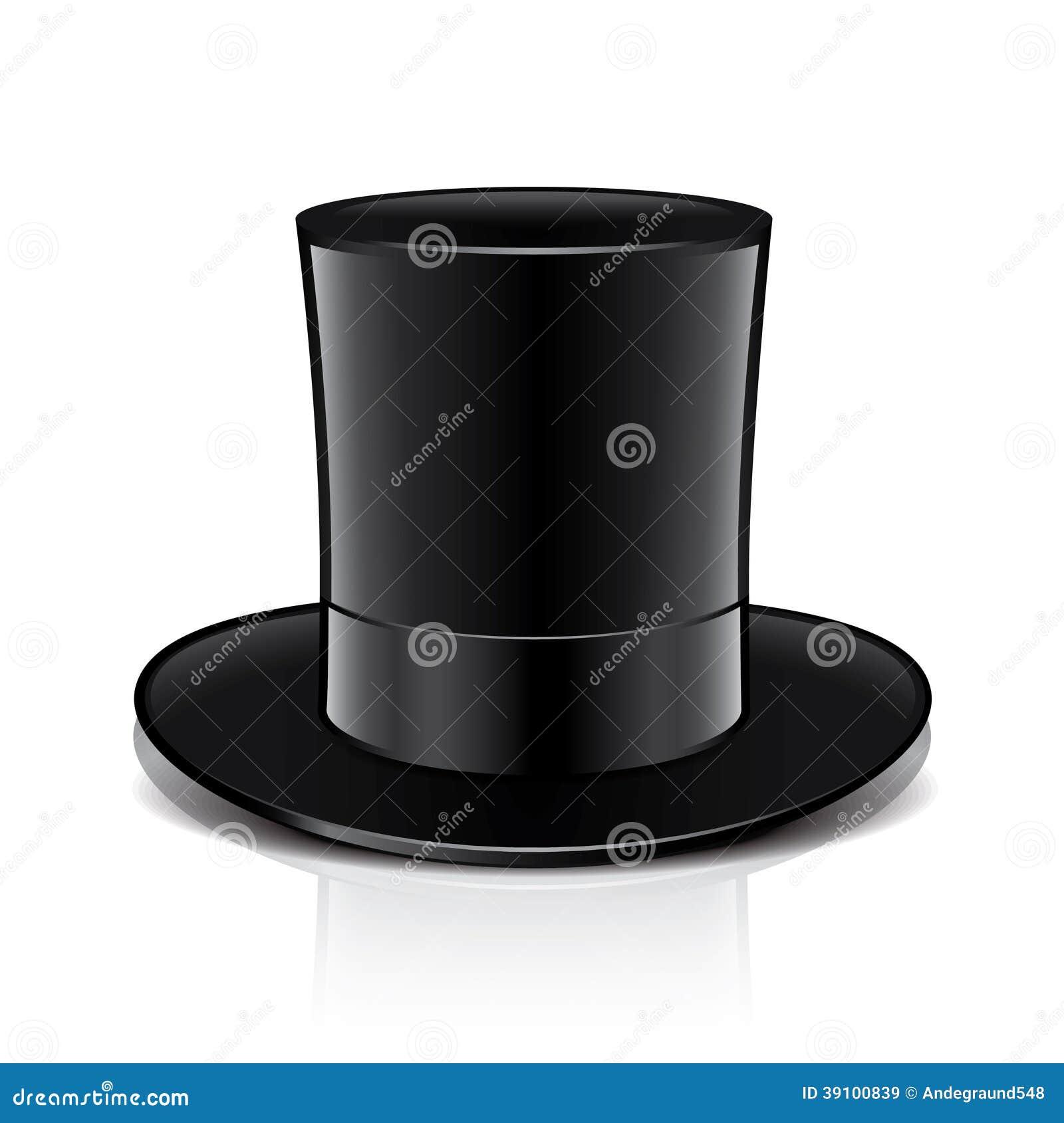 Magische hoedenillustratie