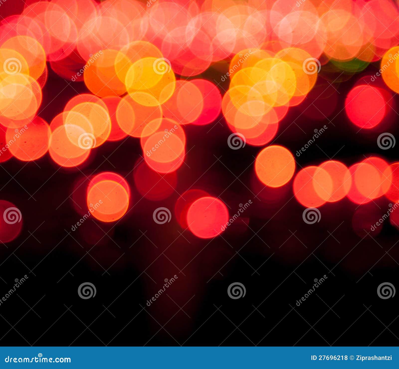 Magisk sparkle, ljusa prickar och bokeheffekt