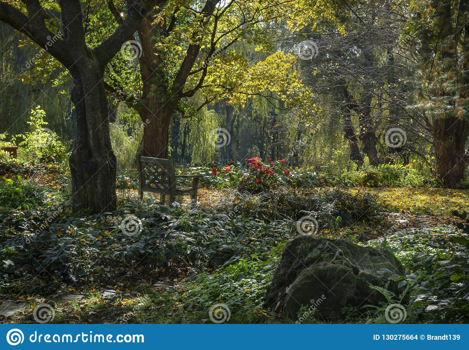 Magiska Autumn Garden i Hudson Valley