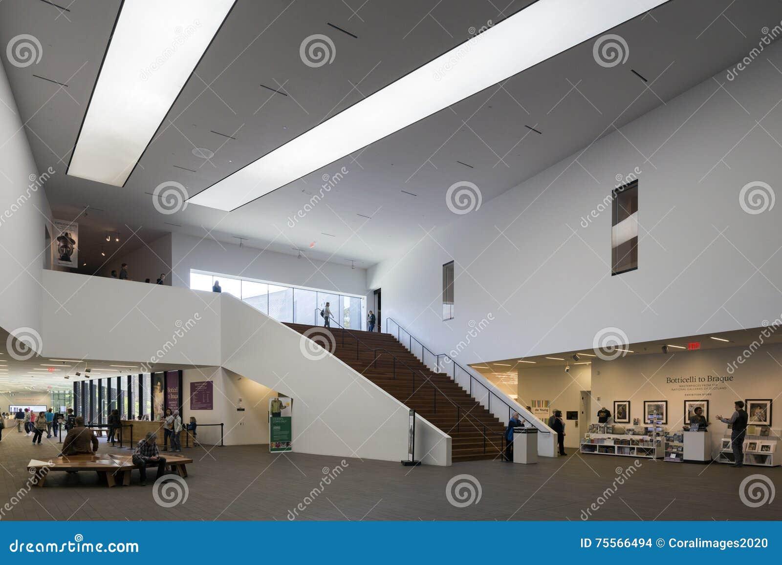 Magistrala lobby przy De Potomstwo Muzeum