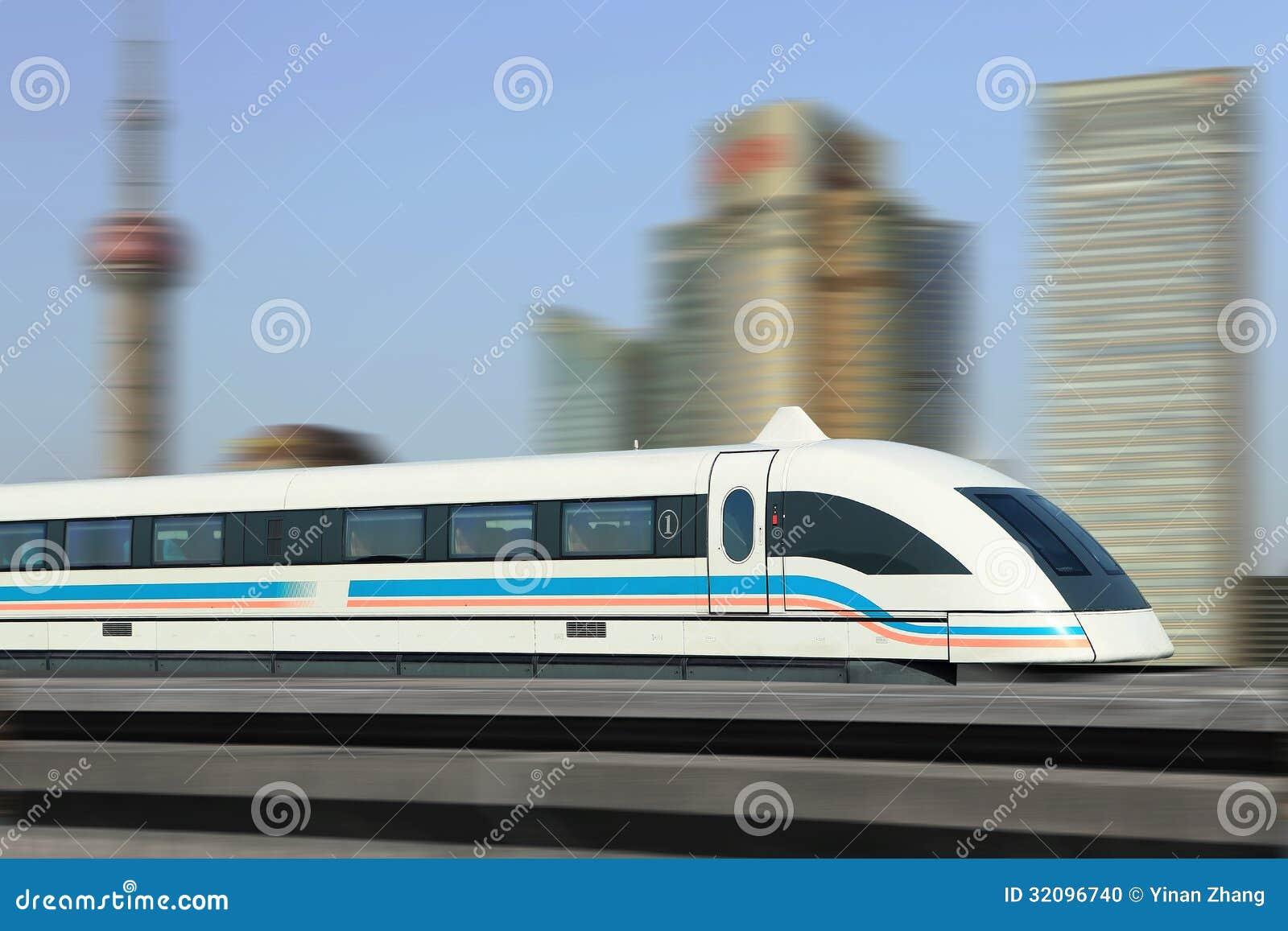 Maglev pociąg